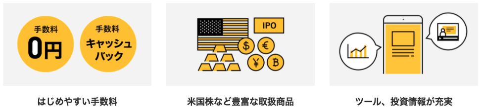マネックス証券の特徴